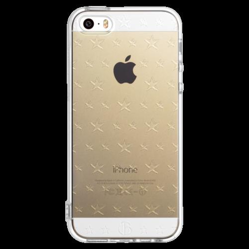 iPhone5/5s/SE TPUソフトケース ダブルサイズスター