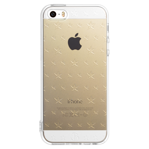iPhone5/5s/SE double size star soft tpu case