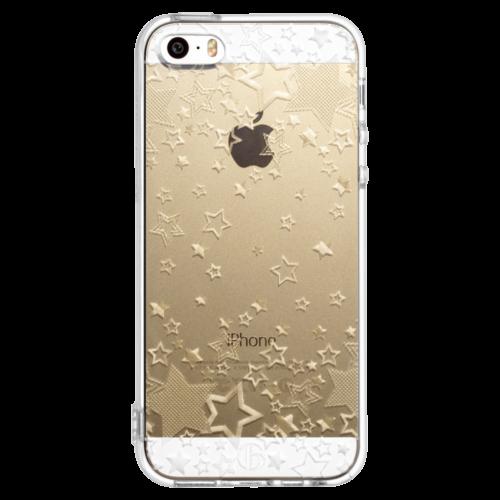 iPhone5/5s/SE TPUソフトケース トゥインクルスター