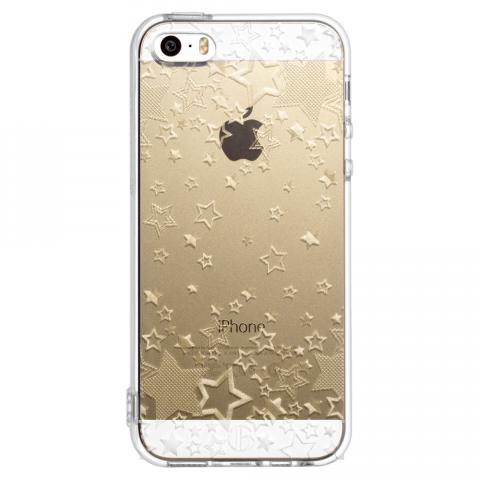 iPhone5/5s/SE トゥインクルスター ソフトTPUケース