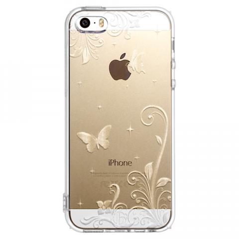 iPhone5/5s/SE パラダイス ソフトTPUケース