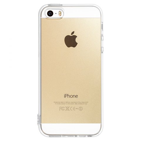 iPhone5/5s/SE クリア ソフトTPUケース