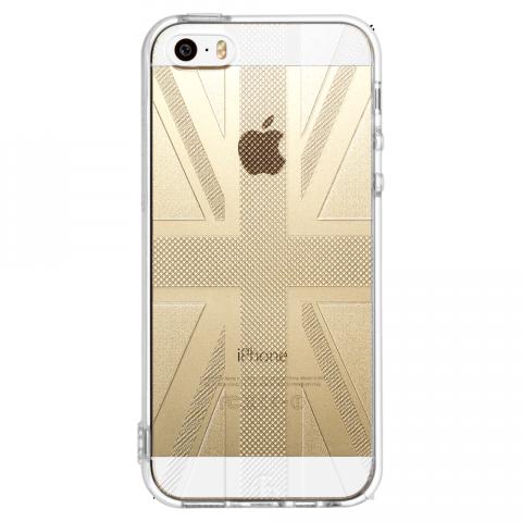 iPhone5/5s/SE ユニオンジャック ソフトTPUケース