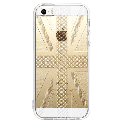 iPhone5/5s/SE union jack soft tpu case