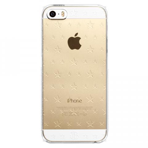 iPhone5/5s/SE ダブルサイズスター PCハードケース