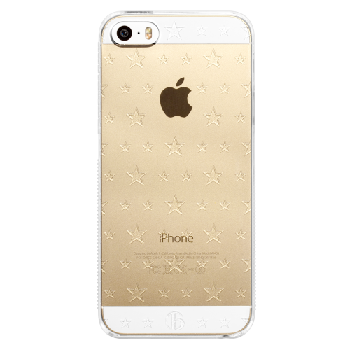 iPhone5/5s/SE double size star pc hard case