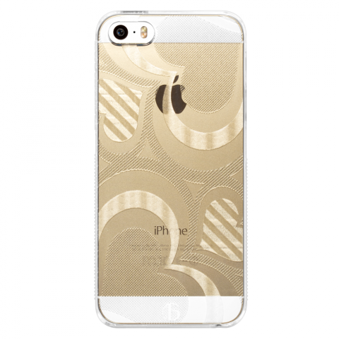 iPhone5/5s/SE フレアハート PCハードケース