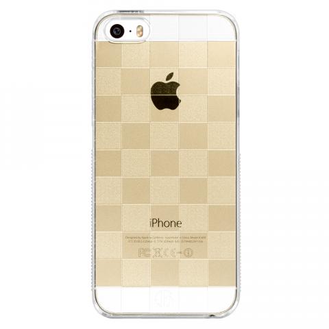 iPhone5/5s/SE チェッカード PCハードケース