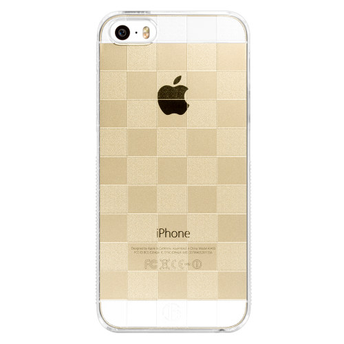 iPhone5/5s/SE checkered pc hard case