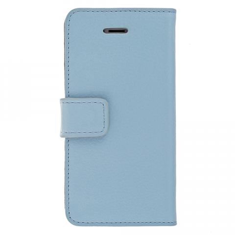 iPhone5/5s スモークブルー レザーケース