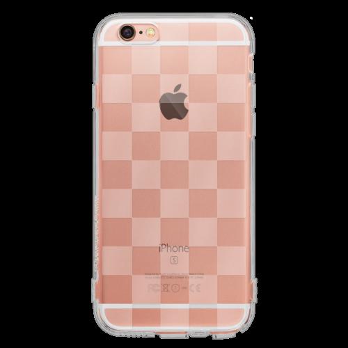 iPhone6/6s TPUソフトケース チェッカード