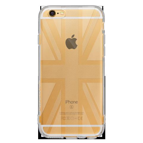 iPhone6 ユニオンジャック ソフトTPUケース