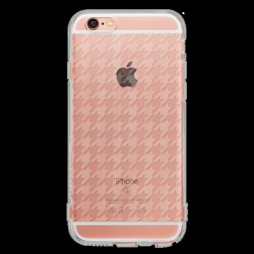 iPhone6/6s TPUソフトケース ハウンズトゥース