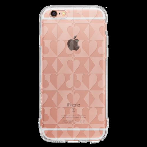 iPhone6/6s TPUソフトケース トランプスーツ