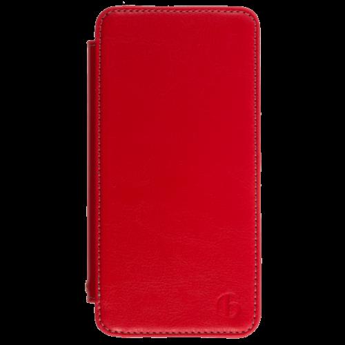 iPhone6 レザーケース レッド