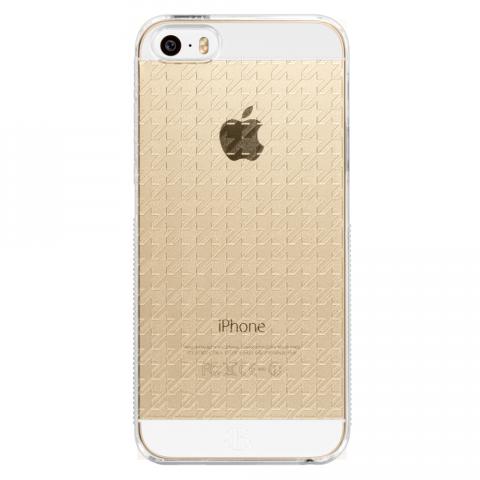 iPhone5/5s/SE ハウンズトゥース PCハードケース