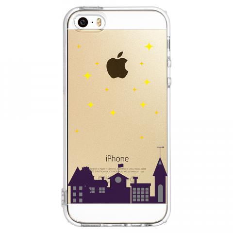 iPhone5/5s ミッドナイト ソフトTPUケース