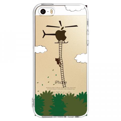 iPhone5/5s ヘリコプター ソフトTPUケース
