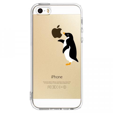 iPhone5/5s ペンギン ソフトTPUケース