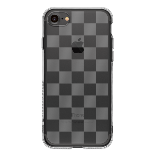 iPhone7 TPU Soft Case Checkerd