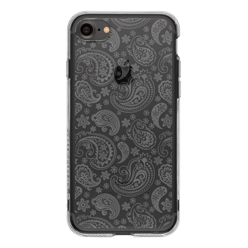 iPhone7 TPU Soft Case Paisley