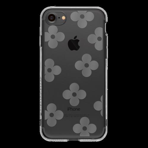 iPhone7 TPUソフトケース フラワー