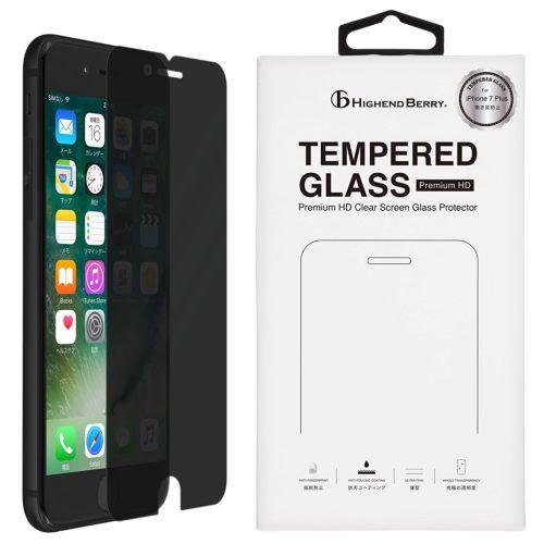 iPhone7 Plus 液晶ガラスプロテクター 覗き見防止
