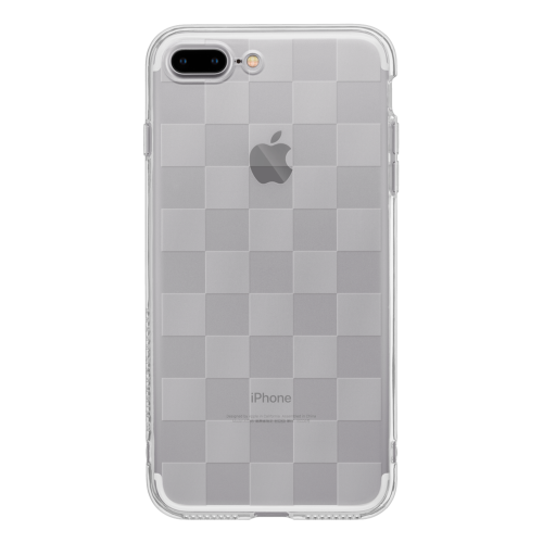 iPhone7 Plus TPU Soft Case Checkerd