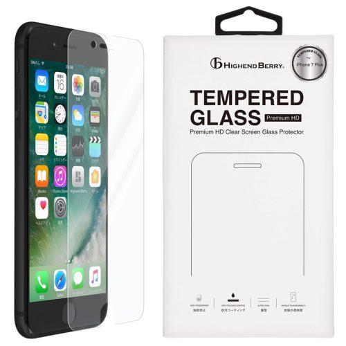 iPhone7 Plus 液晶ガラスプロテクター 光沢