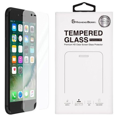 iPhone7 Plus 液晶ガラスプロテクター アンチグレア
