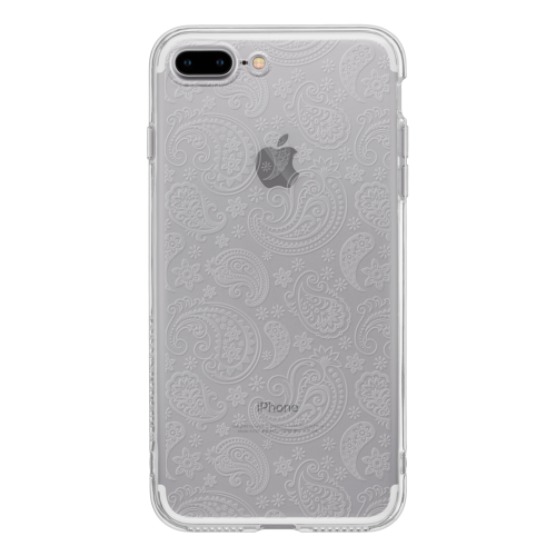iPhone7 Plus TPU Soft Case Paisley