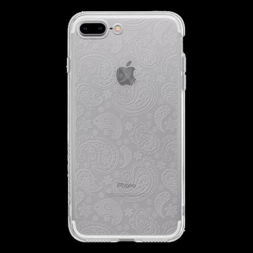 iPhone7 Plus TPUソフトケース ペイズリー