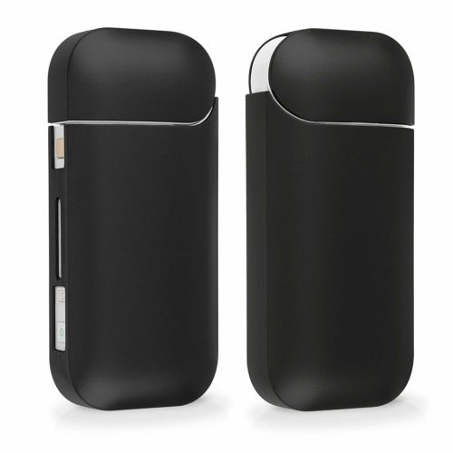 Highend berry iQOS ケース 新型iQOS 2.4 Plus 対応 ケース アイコス ケース ブラック (つや消し)
