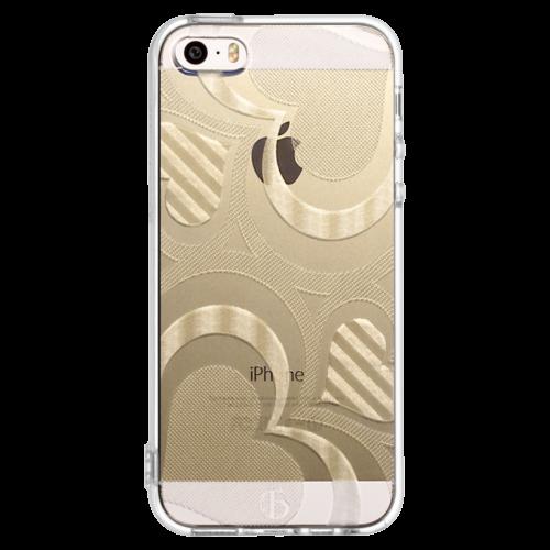 iPhone5/5s/SE TPUソフトケース フレアハート