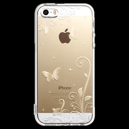 iPhone5/5s/SE TPUソフトケース パラダイス