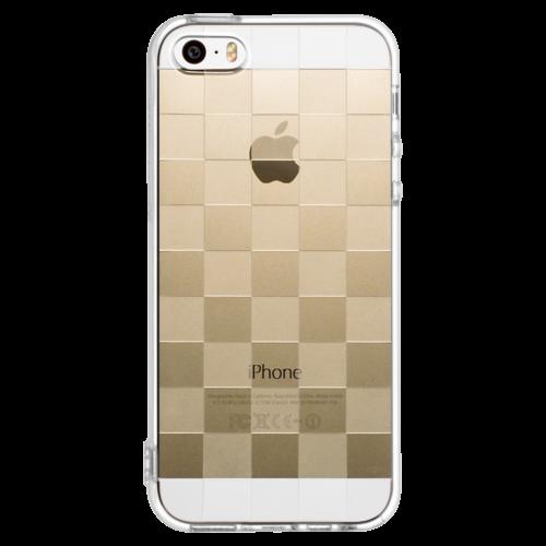 iPhone5/5s/SE TPUソフトケース チェッカード