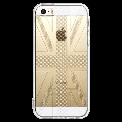 iPhone5/5s/SE TPUソフトケース ユニオンジャック