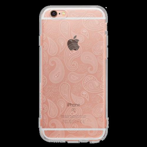 iPhone6/6s TPUソフトケース ペイズリー