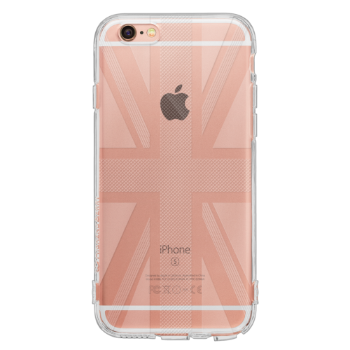 iPhone6/6s TPUソフトケース ユニオンジャック