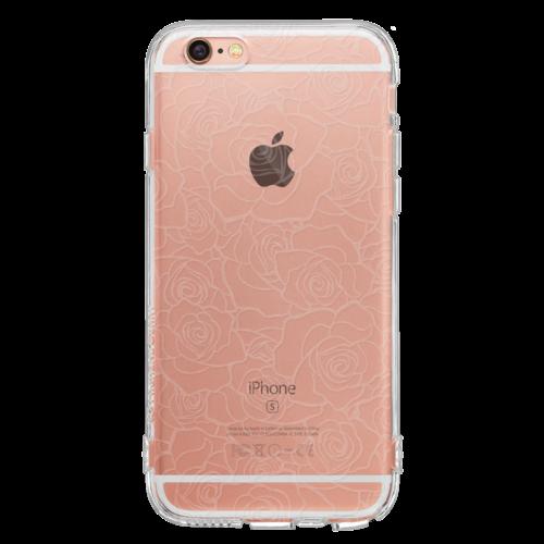 iPhone6/6s TPUソフトケース ローズ