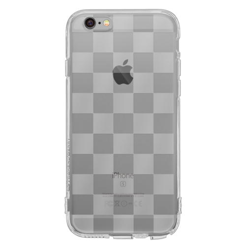 iPhone6/6s Plus TPUソフトケース チェッカード