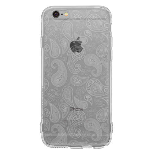iPhone6/6s Plus TPUソフトケース ペイズリー