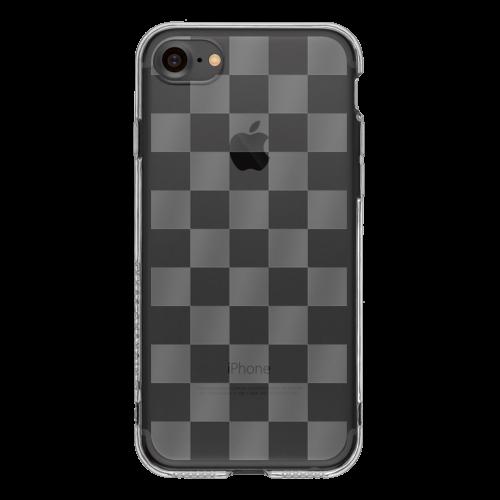 iPhone7 TPUソフトケース チェッカード