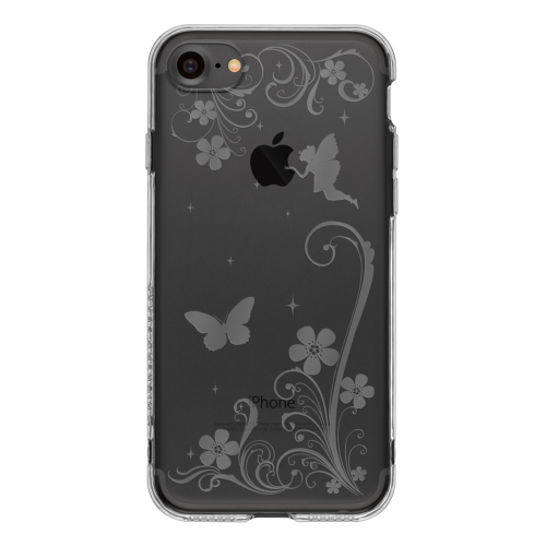 iPhone7 TPUソフトケース パラダイス